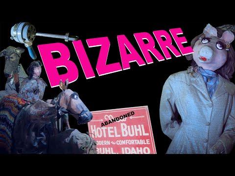This CRAZY ABANDONED Hotel Has Strange Things Inside... | Historic Idaho