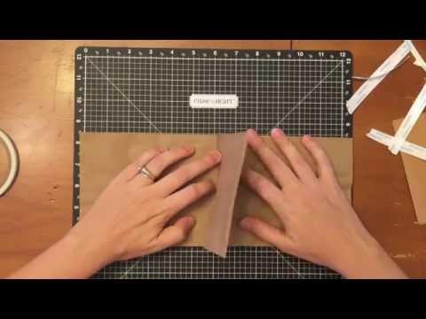 Paper Bag Mini Album Tutorial