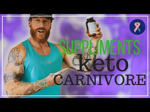 The only KETO / CARNIVORE supplement I take and why EATING Whole Foods is SUPERIOR