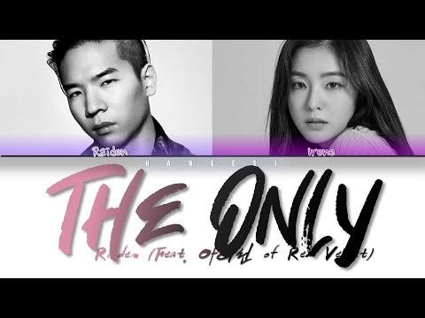 Raiden - 'The Only (Feat. Irene (아이린) Of Red Velvet)' (Color Coded Lyrics Eng/Rom/Han/가사)