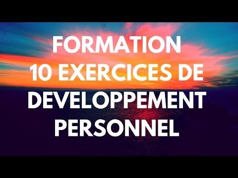 Formation - 10 Exercices de Développement Personnel à Faire Tous les Jours