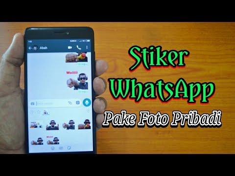 Cara Membuat Stiker WhatsApp Sendiri Menggunakan Foto