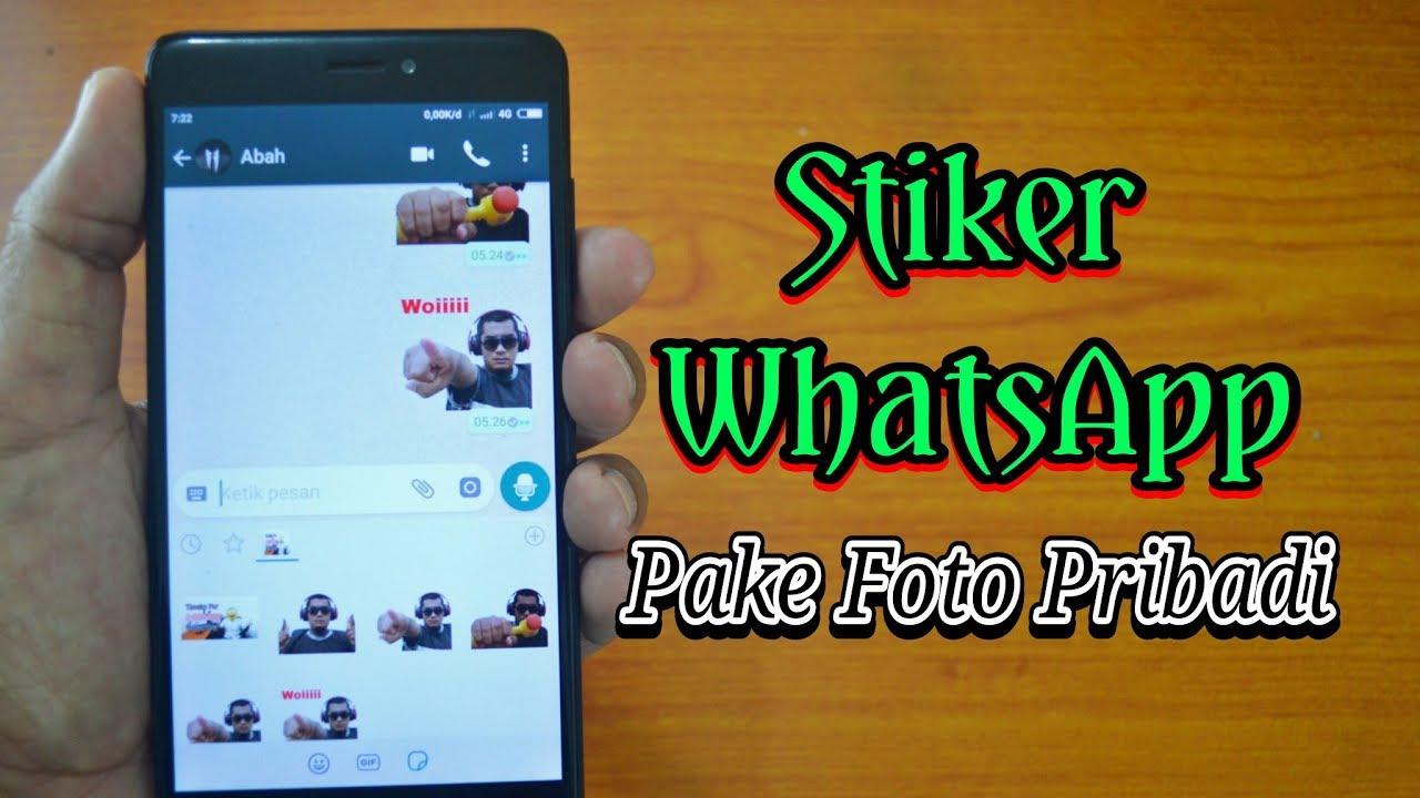 Cara Membuat Stiker Whatsapp Sendiri Menggunakan Foto Youtube