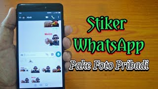 Download Video Cara Membuat Stiker WhatsApp Sendiri Menggunakan Foto MP3 3GP MP4