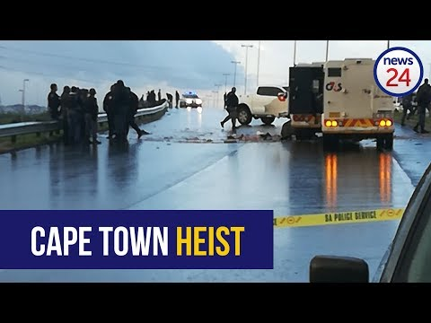 WATCH: Cash-in-transit robbers strike in Cape Town