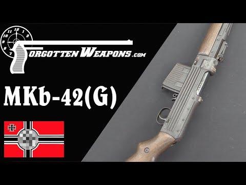 Prototype Gustloff MKb-42(G) aka Model 206