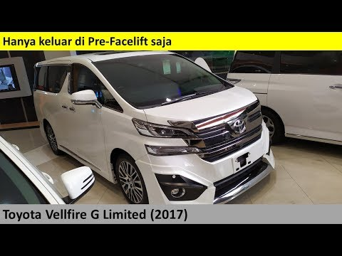 Toyota Vellfire G Limited 2nd Gen (2017) Review - Indonesia