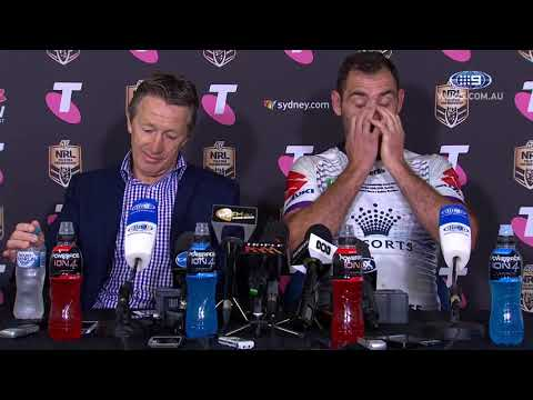 NRL Press Conference: Melbourne Storm - 2018 Grand Final