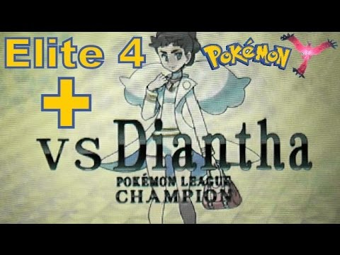 Pokemon X And Y - 3DS XL - Pokemon League - Elite 4 ...