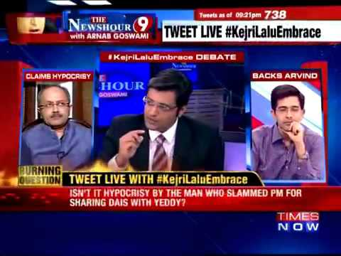 That time Arnab Goswami complained about this 'new' debating technique called yelling