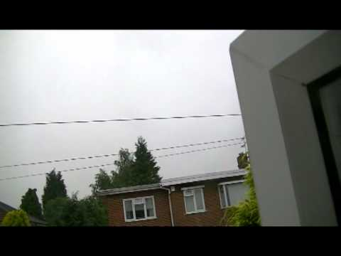 June 28 2012 Thunderstorm in the UK and My Birthday