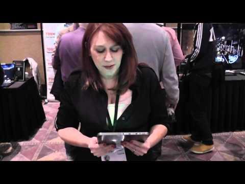 Toshiba Excite X10 Tablet Demo CES 2012 - HotHardware