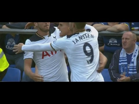 Vincent Janssen (DEBUT) vs Everton (A) [TOTTENHAM HOTSPUR DEBUT] 13.08.2016 HD 720p 50fps