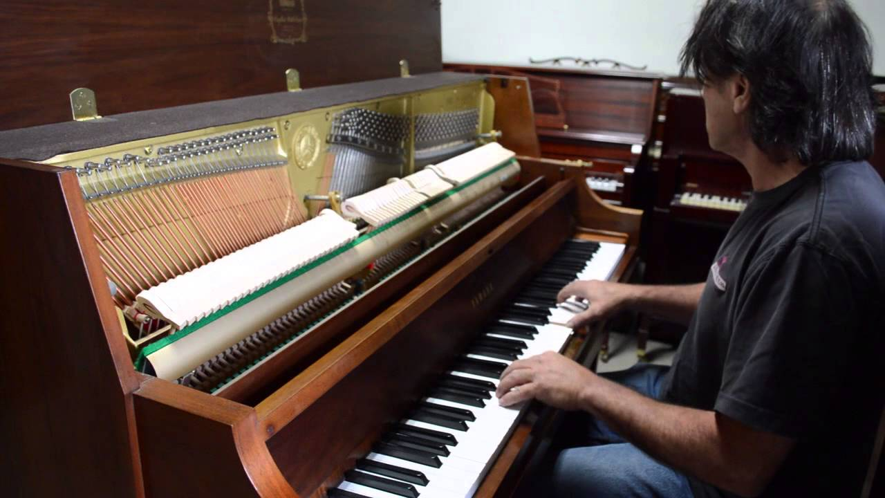 yamaha p22 upright piano for sale youtube. Black Bedroom Furniture Sets. Home Design Ideas