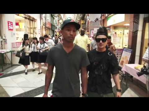 "Pharrell Williams and Palladium Boots - ""Tokyo Rising"""