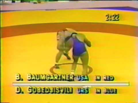 david gobedjishvili vs bruce baumgartner 1988 olimpic final