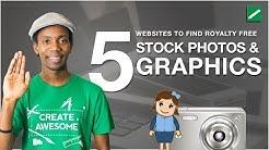 How To Find Graphic Design Stock Images | 5 Royalty Free Stock Photo Websites