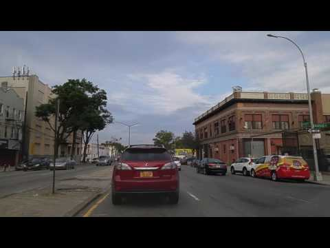 Driving from Ridgewood to Ozone Park in Queens,New York