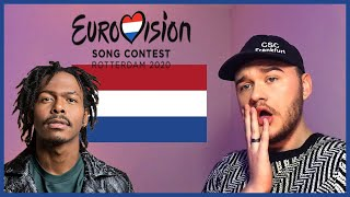 THE NETHERLANDS EUROVISION 2020 REACTION: Jeangu Macrooy - Grow   Avos