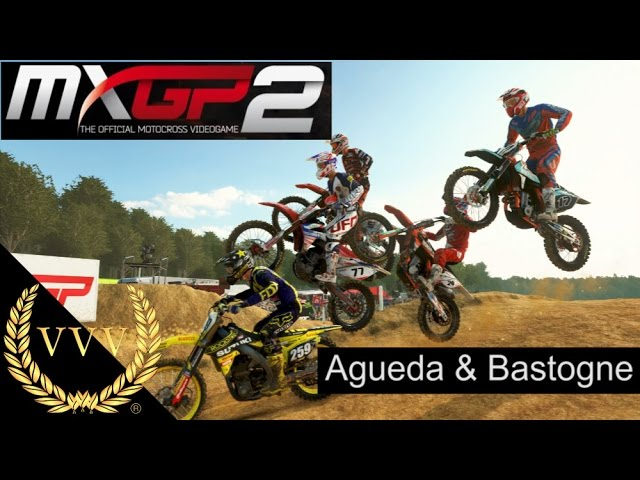 MXGP 2 DLC Tracks Agueda & Bastogne