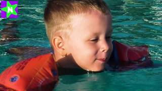 Турция День #1 Купаемся в Бассейнах Swimming and playing in the pool Long Beach Resort Hotel