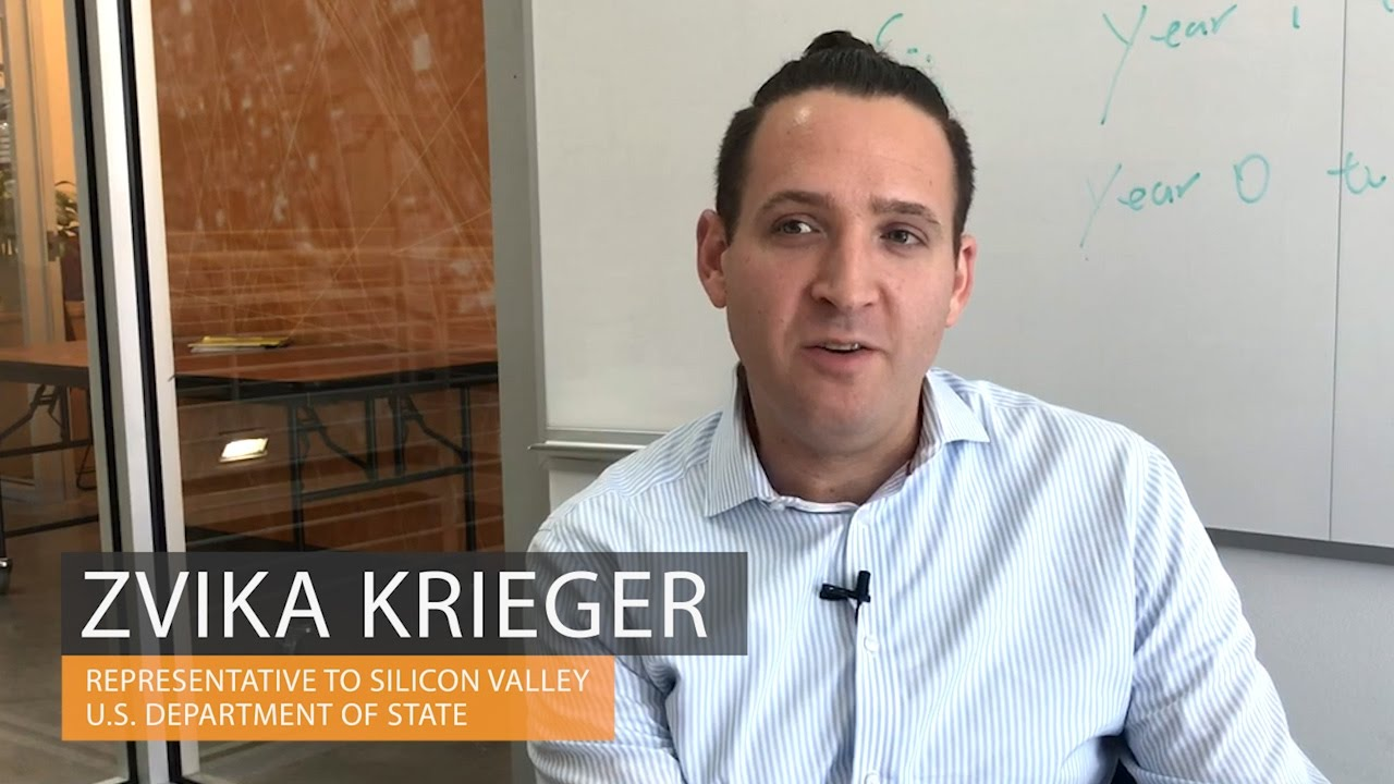 Zvika Krieger on enaging with Silicon Valley - YouTube