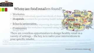Introduction to healthy retail -