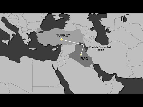 Kurdish economy shattered