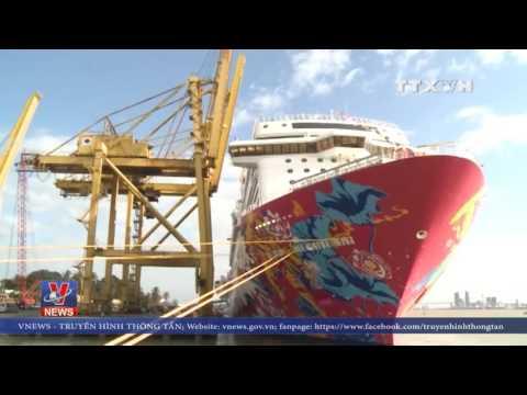 Tàu du lịch lớn nhất châu á đến Đà Nẵng
