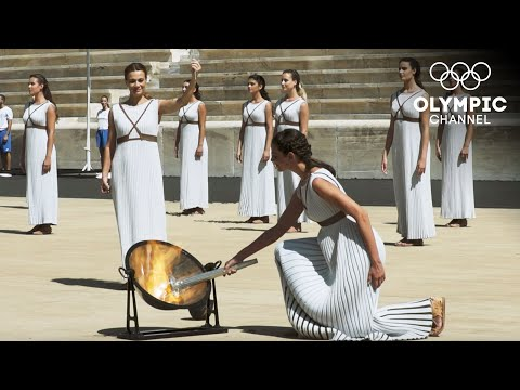Lausanne 2020 Youth Olympic Torch Lighting Ceremony