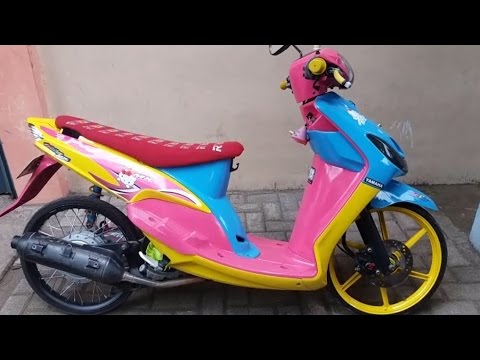 referensi modifikasi mio sporty thailand style