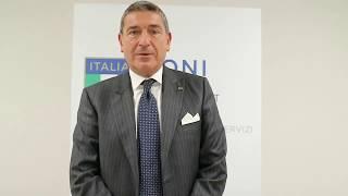 """Bruno Molea al """"Corso di Alta Specializzazione in Management Olimpico"""""""