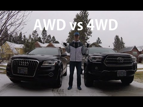 4x4 vs AWD - which is better?