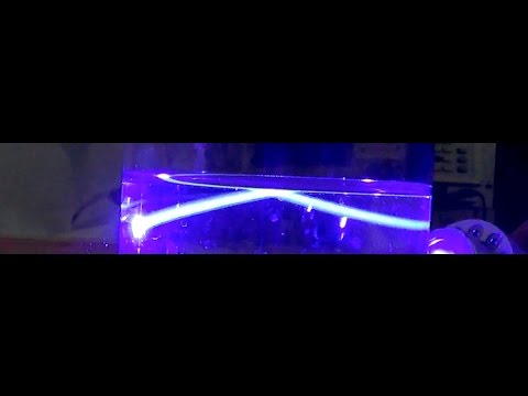 4/29/2015 -- Underwater Laser Reflection Experiment!  Using 50,000mw Laser (50 watt)