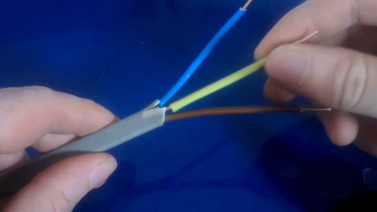 What are the correct electrical wiring colors - YouTube