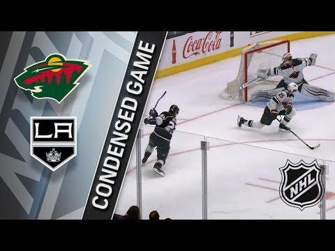 Minnesota Wild vs Los Angeles Kings apr 5, 2018 HIGHLIGHTS HD