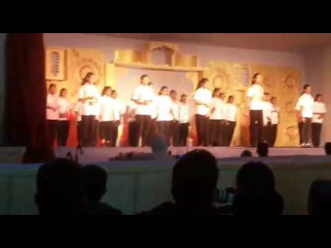 Cultural heritage of India dance form by 7girls of