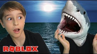 ROBLOX: I BECAME A SHARK OF TERROR | Family playing