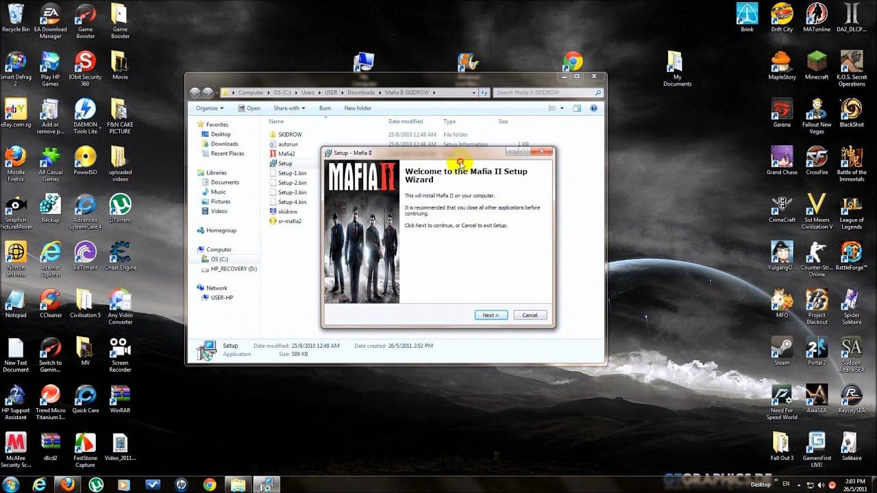 How to download mafia ii skidrow free youtube - How to download mafia 2 ...