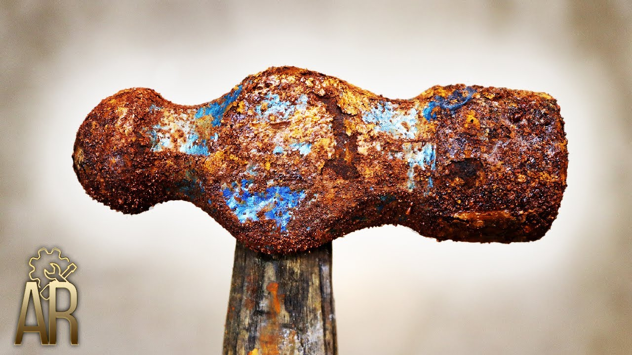 Rusty Hammer Restoration Video – AWESOME recovery