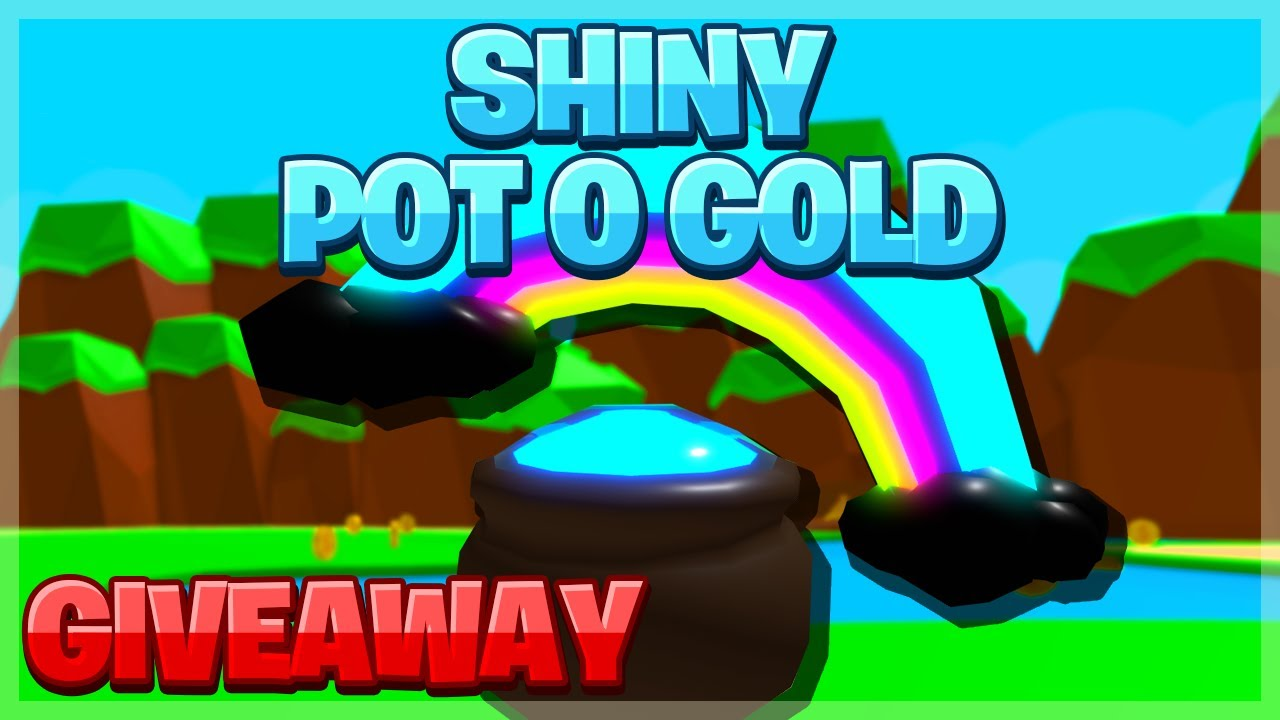 👑Bubble Gum Simulator SHINY POT O GOLD GIVEAWAY!🤩