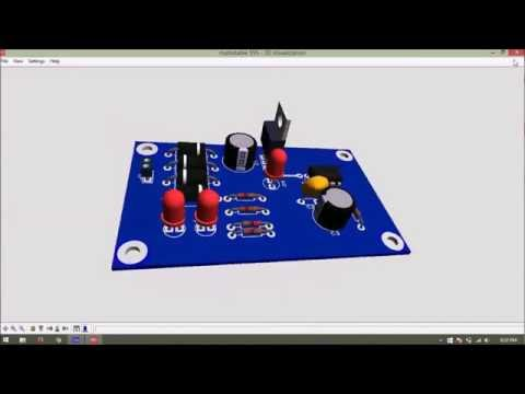 Simulation & Hardware design process (555 in Astable mode)