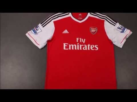 6ae6426af Arsenal New Home Kit 2013   2014 - YouTube