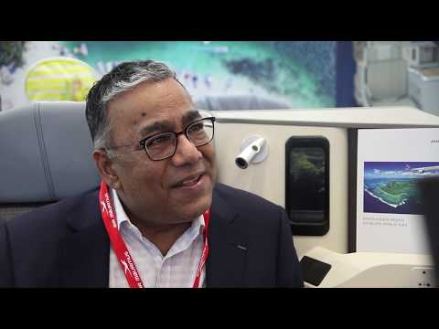 Donald Payen, executive vice president, Air Mauritius