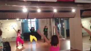 JAZZ初級クラス あや りこ まこ DanceStudio SOUL-b http://www.soul-b....