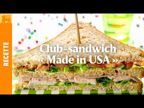Club-sandwich « MADE IN USA »