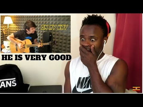 On My Way - Alan Walker - Nathan Finger style Guitar Cover Reaction