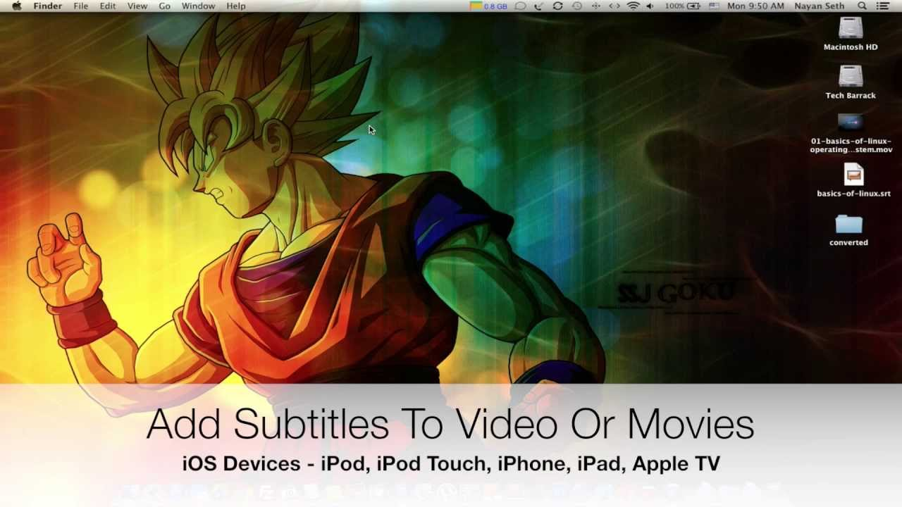 Ios tutorials 04 add subtitles to videos or movies on ios ios tutorials 04 add subtitles to videos or movies on ios devices ccuart Image collections