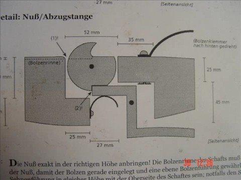 bau einer mittelalterlichen armbrust 9 10 make a crossbow youtube. Black Bedroom Furniture Sets. Home Design Ideas