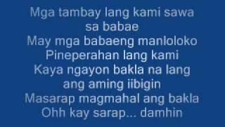 Nagmahal ako ng bakla w/ Lyrics - Dagtang lason